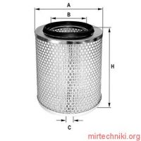 HP734 Fil Filter